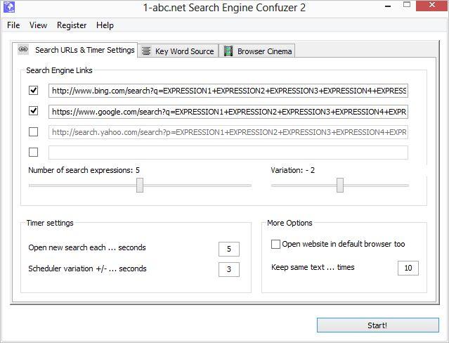 1-abc.net Search Engine Confuzer 1.00 full